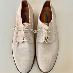 JOHNSTON & MURPHY suede oxford shoes